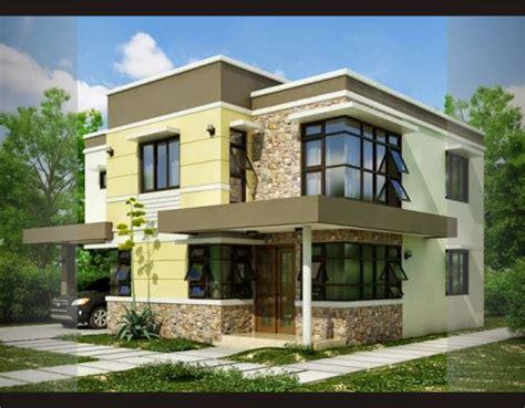 denah rumah minimalis eropa gambar desain rumah