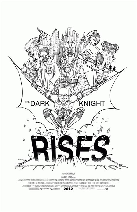 dark knight rises coloring pages coloring home