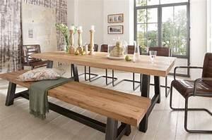 table salle a manger avec banc table et chaise cuisine With salle À manger contemporaineavec table salle a manger avec banc