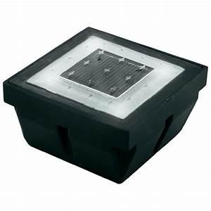 Pavé Lumineux Led : pav solaire lumineux blanc sur ~ Edinachiropracticcenter.com Idées de Décoration