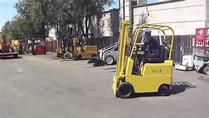 Yale Lp Gas Cushion 3000lb Forklift 001 Mp4