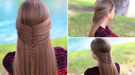 Mermaid Half Braid Step By Step Instructions Trendy Short Hairstyles 2017 Long Straight Layered With Side Swept Bangs How To Make Really Curly Hair Into Beach Waves 2 Wedding Down Flowers For Black Thick Fringe Edgy Bridal Indian Reception Pictures