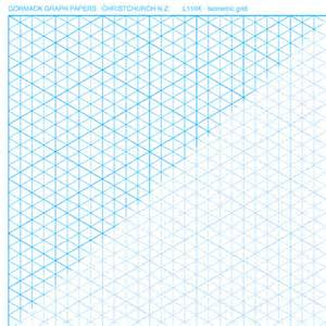 Isometric Graph Paper Pads