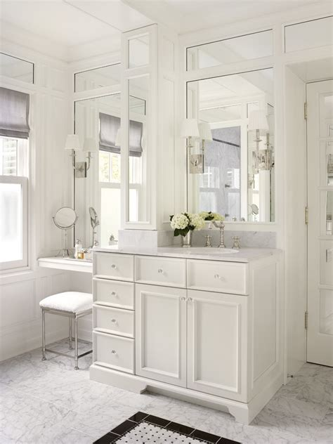 bright makeup vanities  bathroom traditional  girl