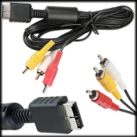 Harga Kabel Rca Untuk Ps2 jual beli kabel playstation to rca av sony baru jual