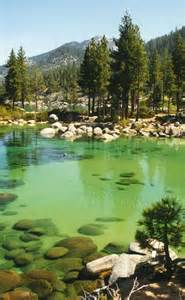 At Sand Harbor Lake Tahoe Nevada