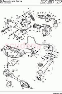 Aston Martin Db7  1997  Rear Suspension Parts