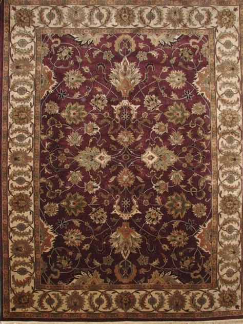 hand knoted green ivory beige colors clearance rugs