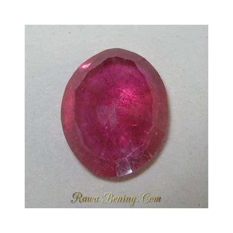 batu safir asli warna reddish orange 2 90 carat harga murah