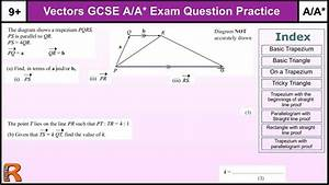 How To Do Vectors A  A  Gcse Maths Revision Higher Level