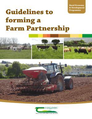 fillable  profit partnership agreement template edit