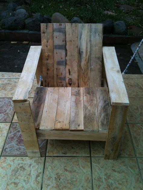 lounge chair creations  meubles en bois de palettes