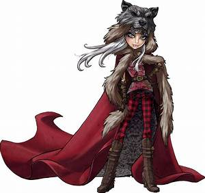 Cerise Wolf, Daugther of Big Bad Wolf | Ever After High