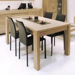 table salle a manger avec rallonge integree table de salle manger avec rallonge integree