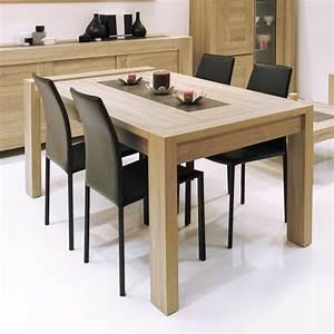 Table de salle a manger avec rallonge pas cher for Meuble salle À manger avec chaise de salon pas cher