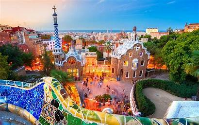 Spain Wallpapers Barcelona Guell Park