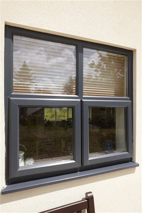 coloured upvc windows ecoframe