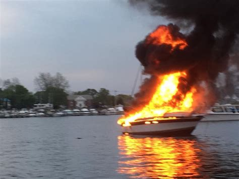 Fishing Boat Explosion by Md Resources Investigates Boat Explosion