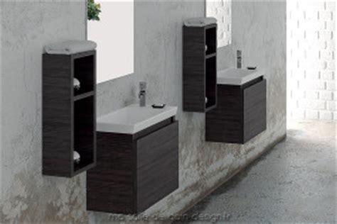 meuble de salle de bain design suspendu ou  poser avec