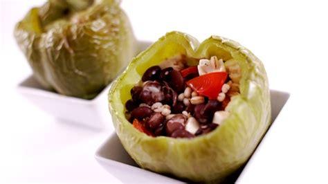 cuisiner des haricots verts en boite poivron farci aux haricots noirs