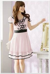 Korean dress | korean dress k1222 Pink [k1222] $10.90  Yuki Wholesale Clothing ... | clothes or ...