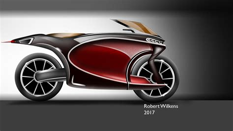 I can't take all the credit as it's built upon plans but i deviated from them considerably … Bugatti Motorcycle Concept on Behance