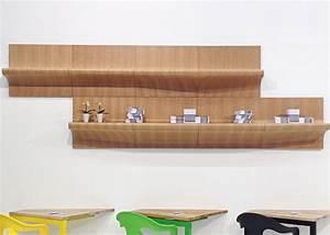 Fabriquer Une étagère Murale Originale : etag re murale originale en bois de ch ne ou noyer chez ksl living ~ Dode.kayakingforconservation.com Idées de Décoration