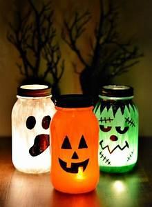 Basteln Mit Einmachgläser : einfache diy bastelideen f rs gruselfest halloween einmachgl ser basteln halloween r ckt mit ~ Markanthonyermac.com Haus und Dekorationen