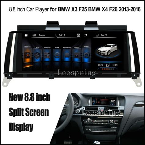 split screen android  car player  bmw