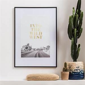 Cadre Vegetal Leroy Merlin : cadre milo 40 x 50 cm noir leroy merlin ~ Melissatoandfro.com Idées de Décoration