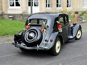 Citroen Maubeuge : location citro n traction 11bl de 1951 pour mariage nord ~ Gottalentnigeria.com Avis de Voitures