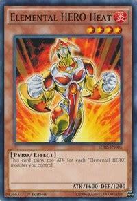 elemental structure deck 2006 elemental heat structure deck strike yugioh