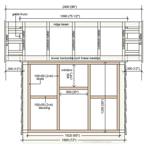 Playhouse For Plans Photo Gallery by Free Playhouse Plans Rear And Side Elevation Plan