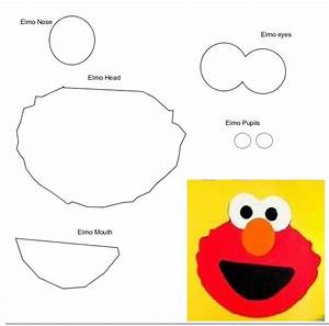 elmo svg all for my girl With elmo cut out template