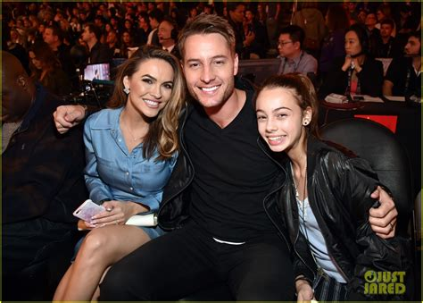 justin hartley brings wife chrishell stause daughter