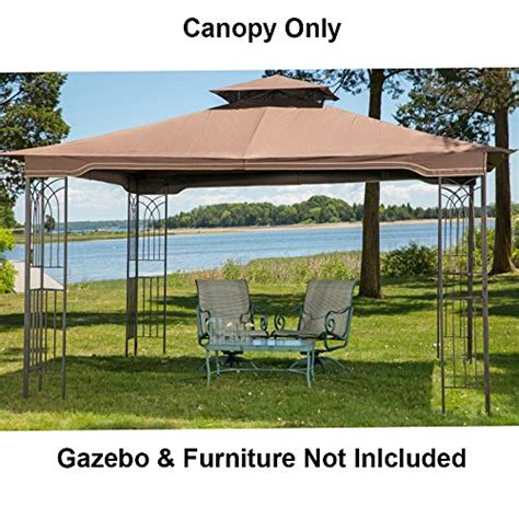 gazebo canopy replacement parts shadow hills  ft   ft roof style garden house awning