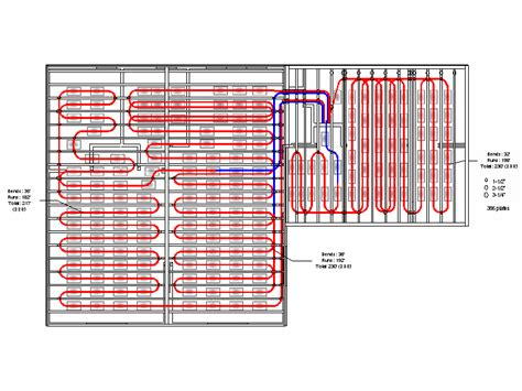 pex radiant floor heating layout pex layout pictures to pin on pinsdaddy