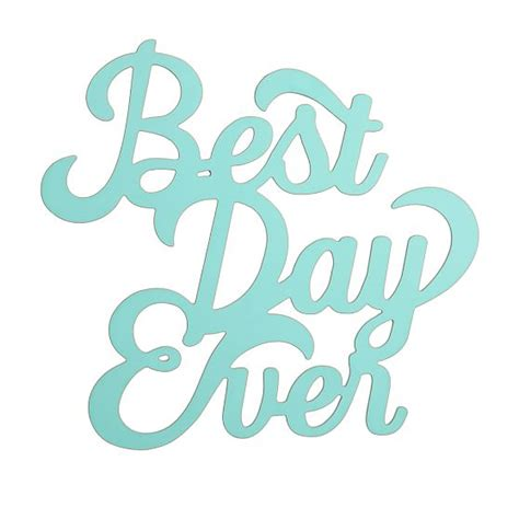 Best Day Ever Wall Art Pbteen