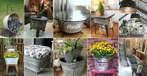 Astonishing Wash Tubs Reuse Ideas That You Will Have To See