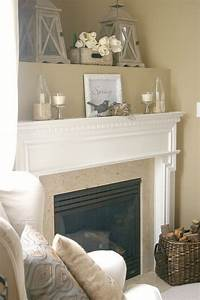 25 best ideas about corner fireplace decorating on With spice up your corner fireplace