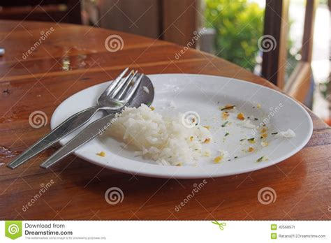 food leftover  plate stock image image  white left