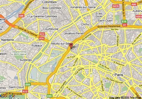 map of le meridien etoile
