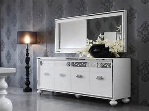Buffet Avec Miroir : le meilleur bahut moderne en 53 photos pour vous inspirer ~ Teatrodelosmanantiales.com Idées de Décoration