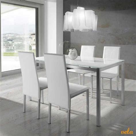 mesas de comedor redondas extensibles modernas cristal