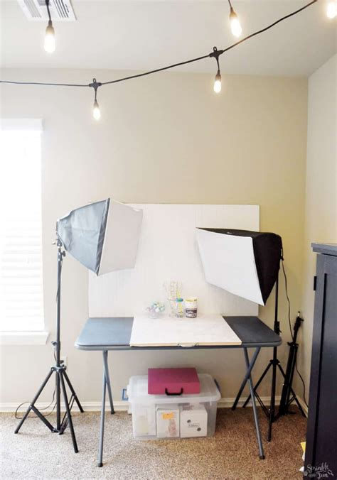 Craft Room Makeover With Café Lights  Sprinkle Some Fun