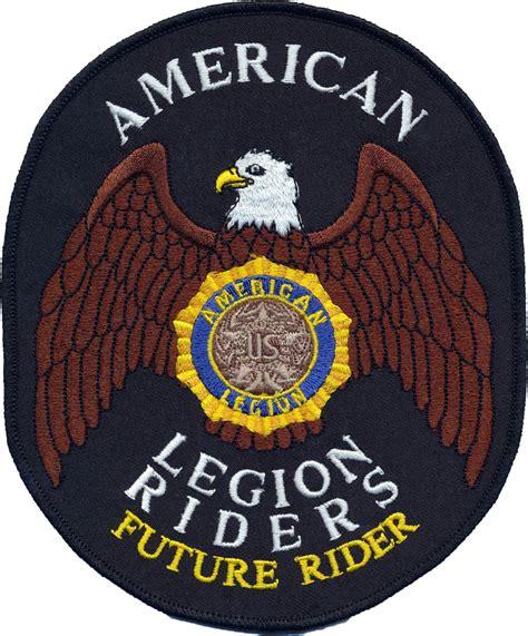 future rider patch american legion flag emblem