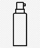 Coloring Bottle Clipart Line Pinclipart sketch template