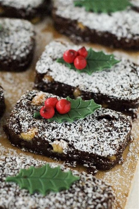christmas brownies christmas pinterest