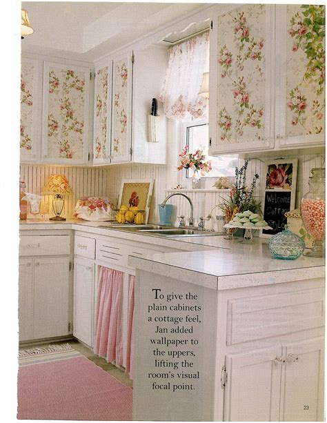 cottage style wallpaper decorating vintage cottage style interiors katharine s