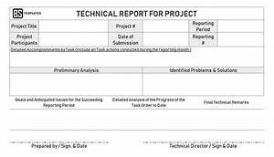 Report Formats Word Technical Report Example How To Writing A Technical